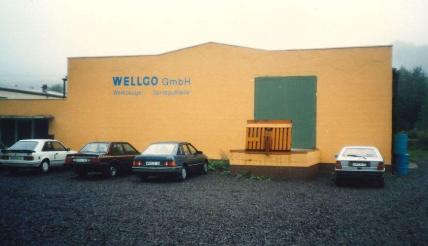 Historie - WELLGO Gruppe 1986
