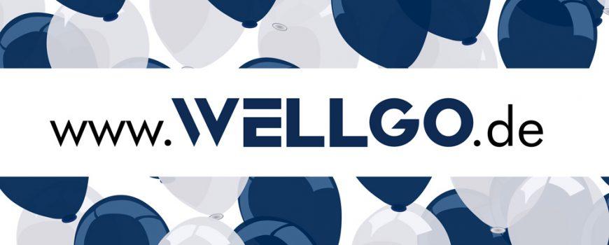 Unsere neue Webseite ist online - WELLGO Gruppe